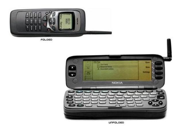 Nokia lanzó el primer smartphone. Venía con una CPU derivada de un Intel 386 y 8 Mbytes de RAM. El teléfono en cuestión es el  Nokia 9000i.