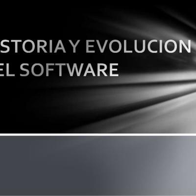 LINEA DEL TIEMPO DE LA HISTORIA DEL SOFTWARE timeline