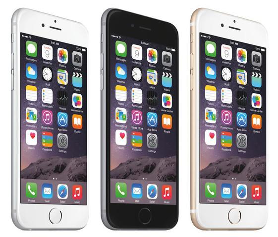 Apple lanza el iPhone 6 y iPhone 6 Plus, son teléfonos inteligentes que funcionan con el sistema operativo iOS 8,desarrollado por Apple Inc