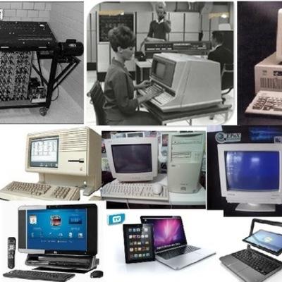 LAS CINCO GENERACIONES DE COMPUTADORAS timeline