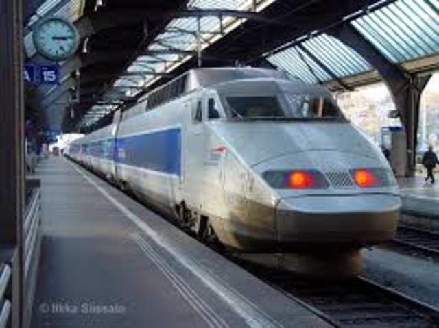 The Evolution Of Trains Timeline Timetoast Timelines