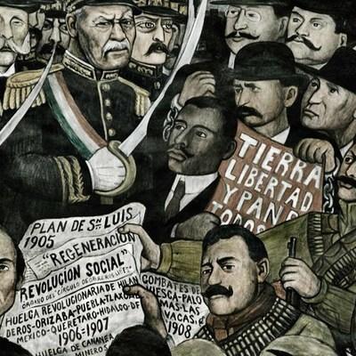 De la Revolución a Lázaro Cárdenas timeline