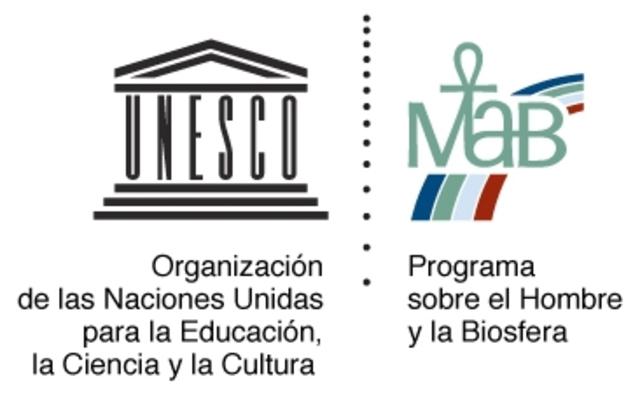 """Programa UNESCO """"El hombre y la biósfera""""."""