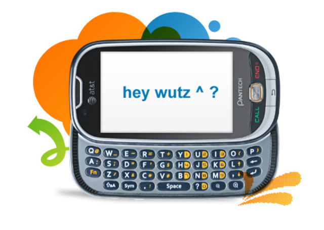 AT&T offers instant text messaging for mobile phones.