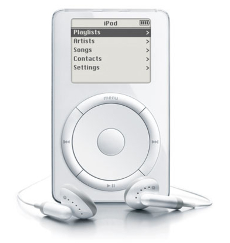 Apple creates the iPod