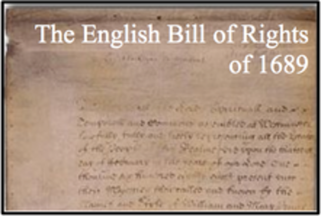 bill of rights england pdf