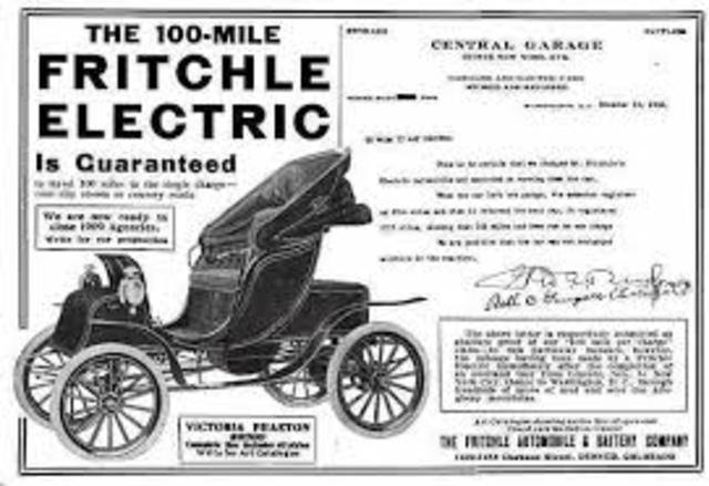 History Of The Electric Car Timeline Timetoast Timelines