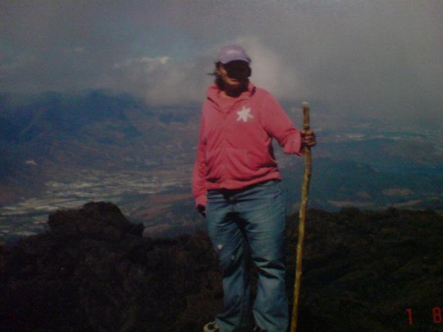 Subir el volcan de pacaya