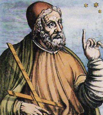 Cos² + Sen² = 1  Cludio Ptolomeo