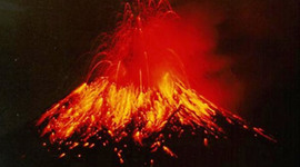 Volcanic Eruptions timeline