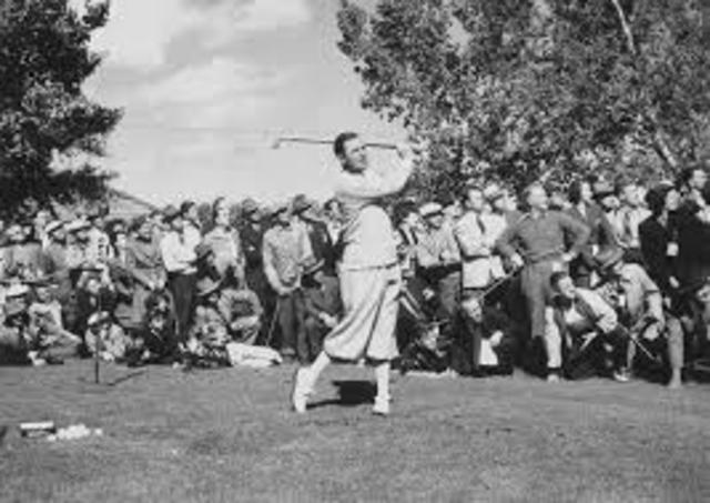 First U.S. Open in Golf
