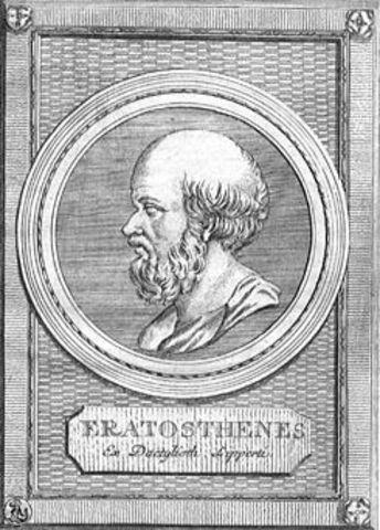 Medición del perímetro de la Tierra (296 -195 a.C)