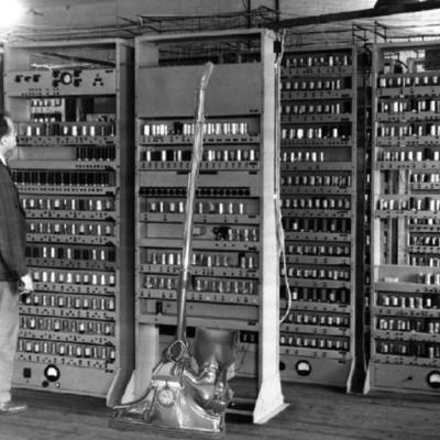Evolución histórica del procesamiento de la información timeline