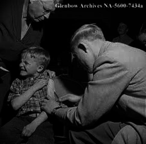 Polio Vaccine is Created
