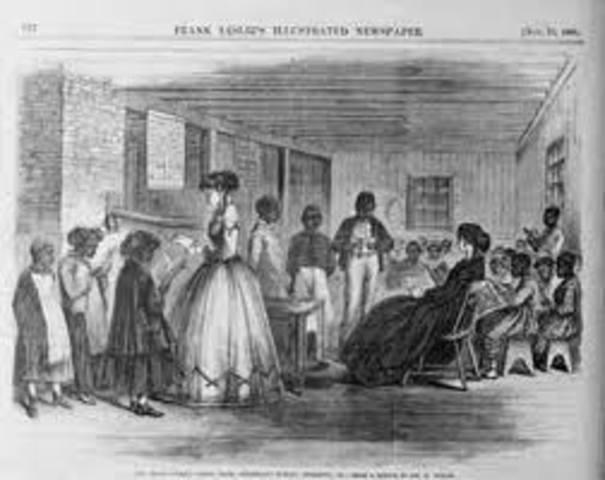 Teacher Rush to the South to Teach