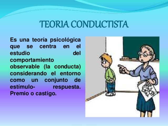 ENFOQUE CONDUCTISTA Y NEOCONDUCTISTA