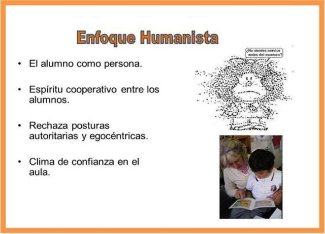 ENFOQUE HUMANISTA