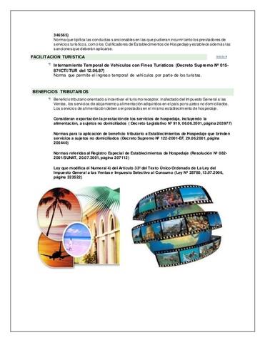 reglamento de los servicios turisticos