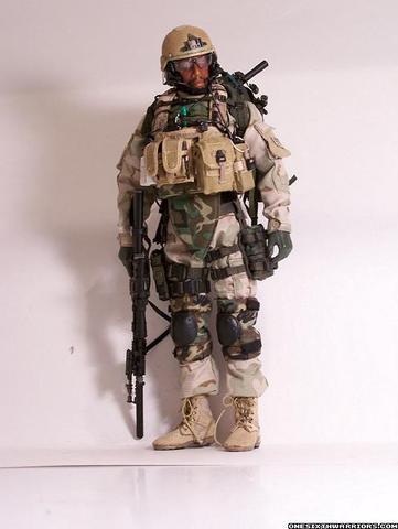 Inspeccion en armas del ejercito USA