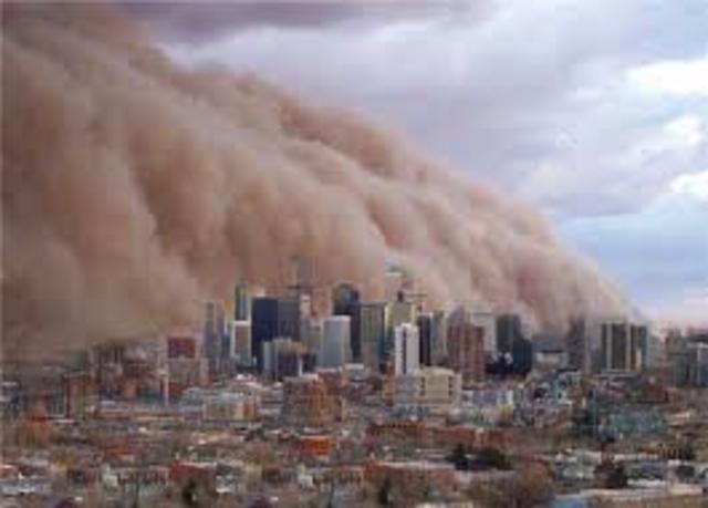 Melbourne Dust Storm