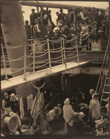 """Alfred Stieglitz takes """"The Steerage"""""""