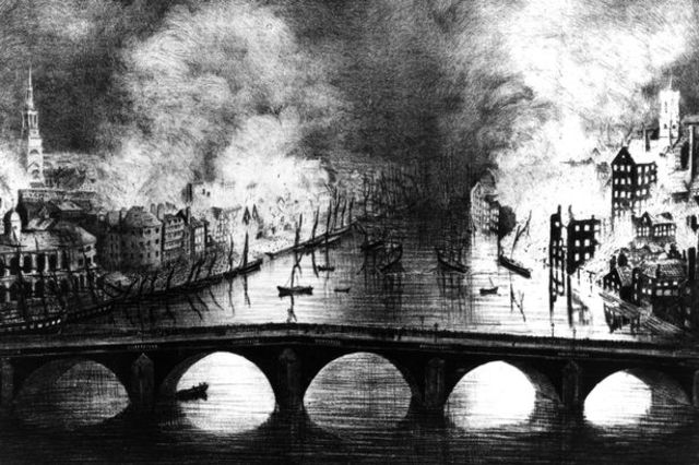 Great Fire of Newscastle and Gateshead
