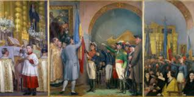 guerra civil entre centralistas y federalistas