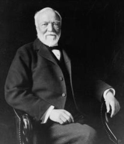 Andrew Carnegie sells his compnay to J.P. Morgan, creating U.S. Steel