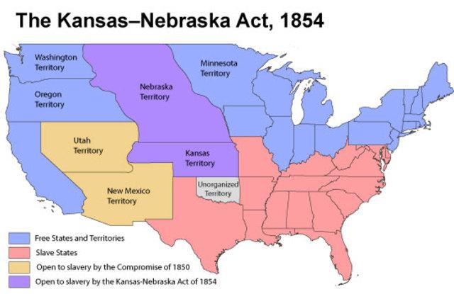 The Kansas/ Nebraska Act