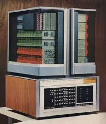 the company DEC makes the pdp-8