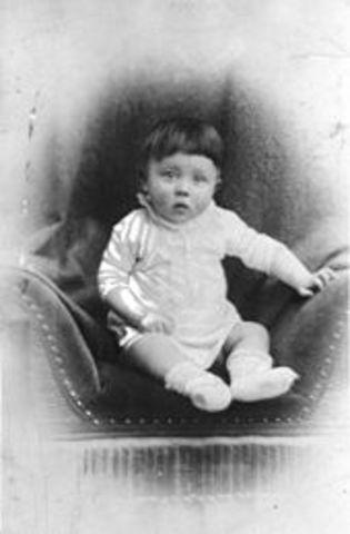 Nacimiento de Adolf Hitler