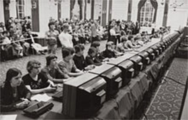 First video game competition