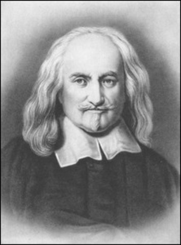 Tomas Hobbes 1588 - 1679