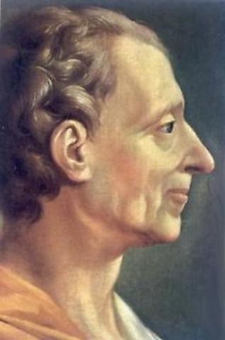 Montesquieu 1689 - 1755