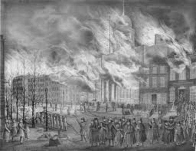 The Great Fire of New York