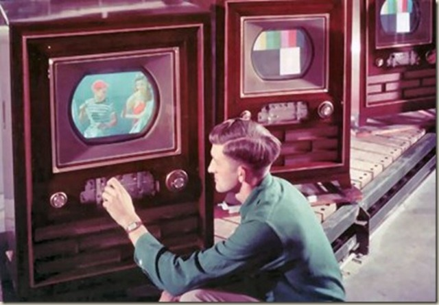 Colored Television is now invented