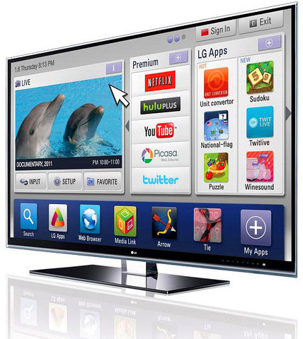 """The first """" Smart TV """" is invented"""