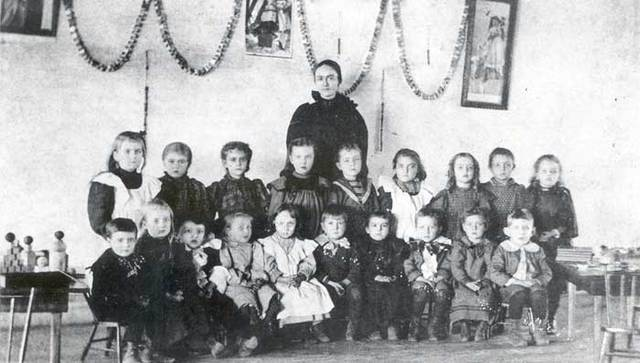 The First Public Kindergarden is created