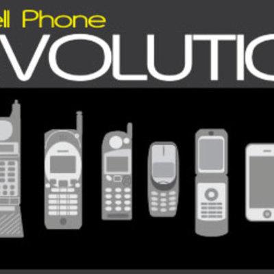 Evolution of the Mobile Phone timeline
