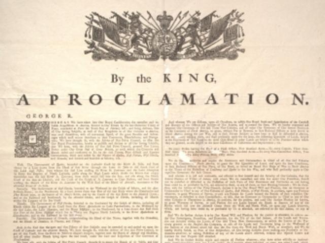 Royal Proclamation of 1763