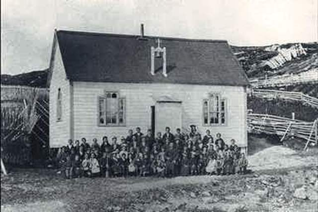 The very first english school