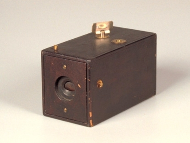 George Eastman Introduced First Hand-Held Box Camera