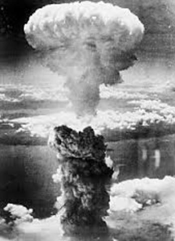 First Major Use Of Nuclear Weaponry In Wartime