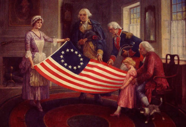 Betsy Ross created the American Flag