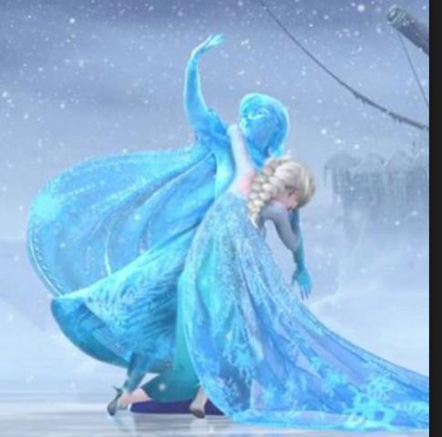Anna saves Elsa