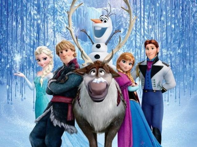 Anna's frozen heart