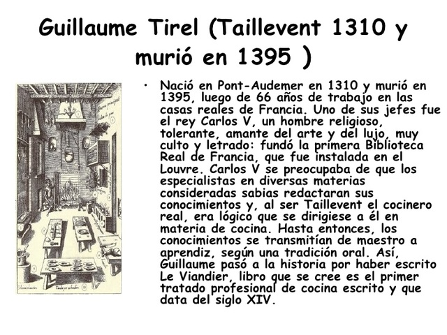Guillaume Tirel  Taillevent.