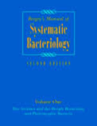 Aparece el Manual Bergey de Microbiología.