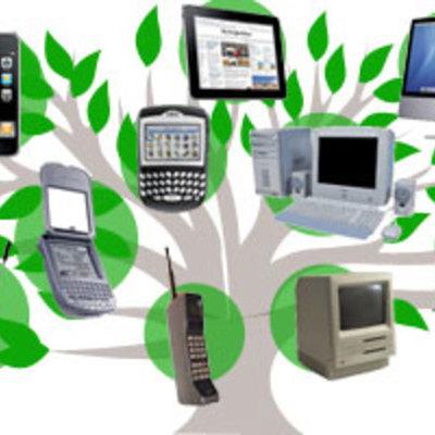 Evolución de la comunicación y las tecnologías timeline