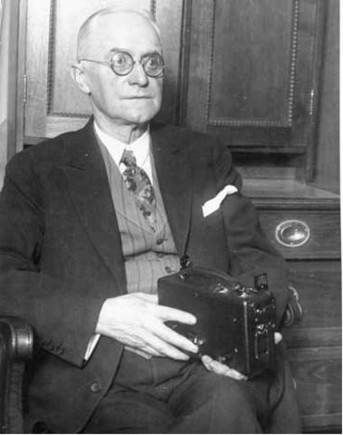 The First hand-held box camera